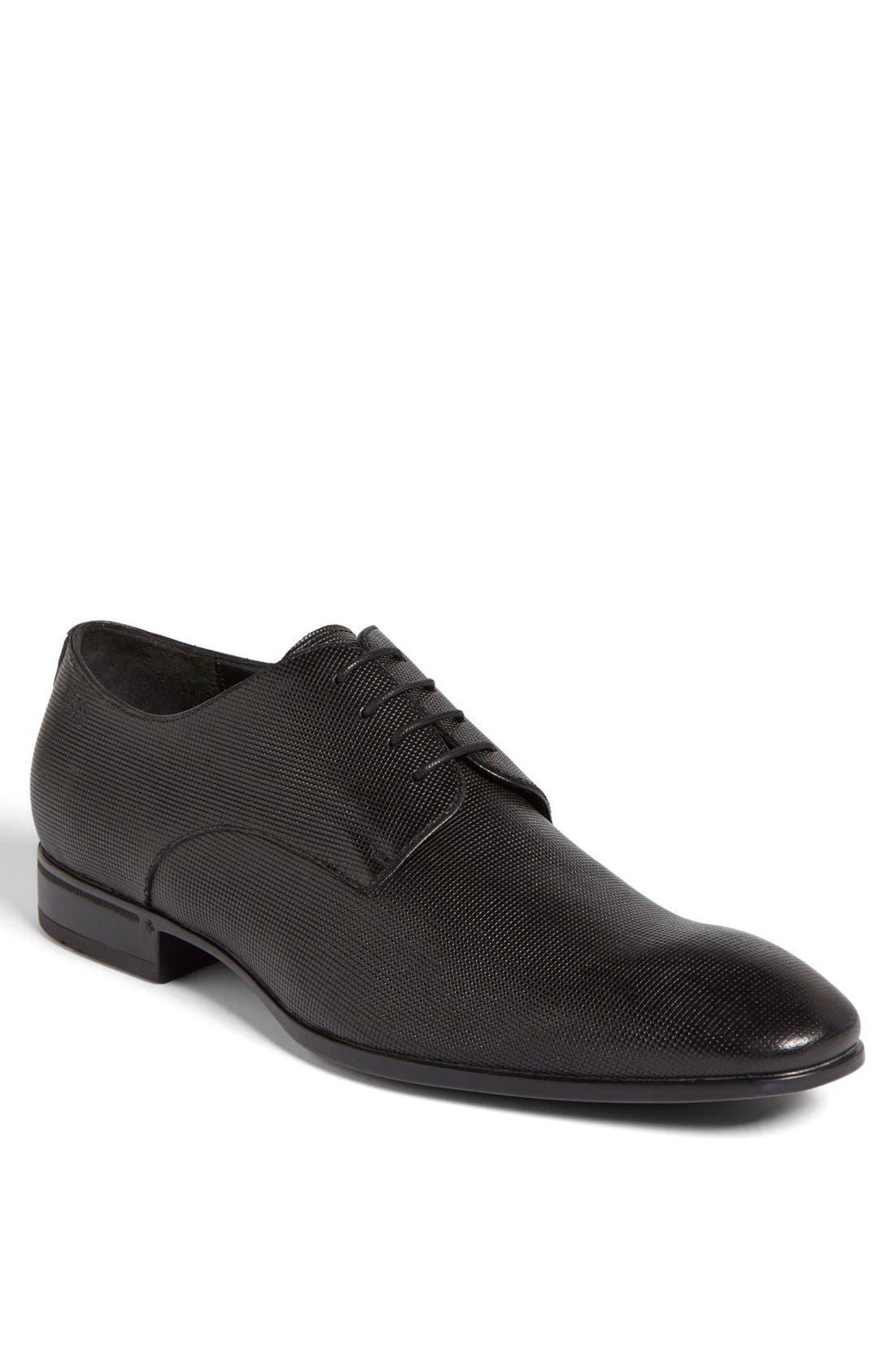 Main Image - BOSS 'Vareb' Plain Toe Oxford (Men)