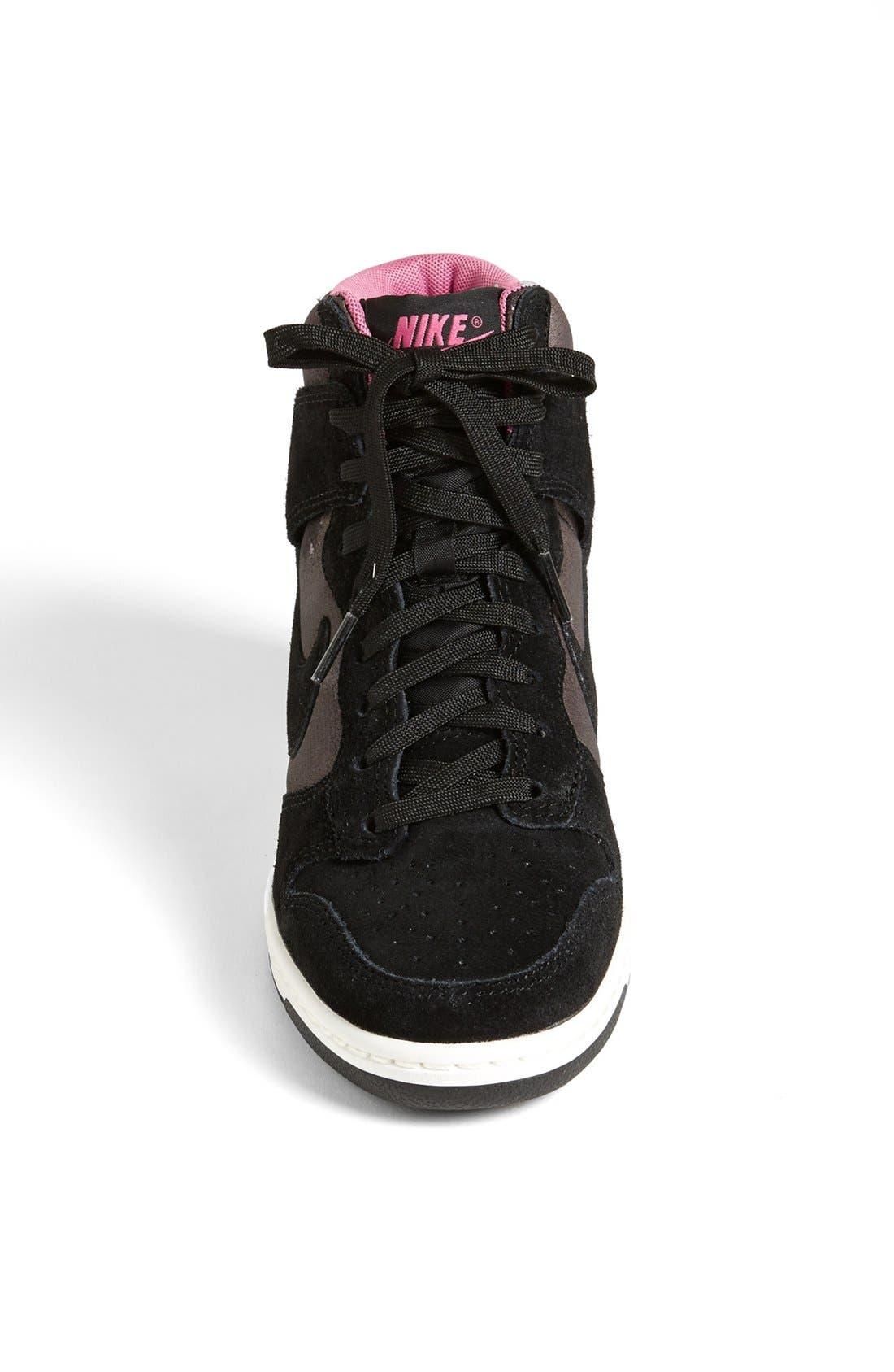 Alternate Image 3  - Nike 'Dunk Sky Hi' Wedge Sneaker (Women)