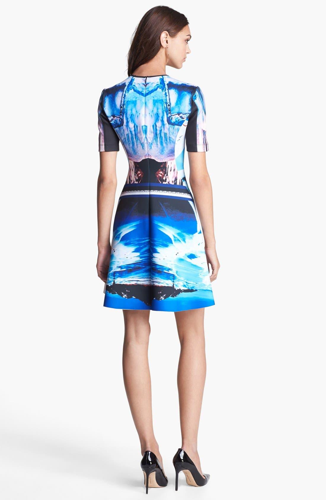 Alternate Image 2  - Clover Canyon 'Crystal Corset' Scuba A-Line Dress