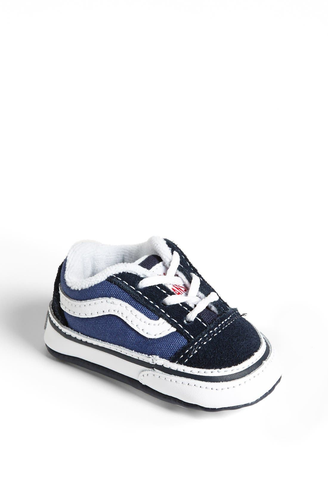 Alternate Image 1 Selected - Vans 'Old Skool' Crib Shoe (Baby)