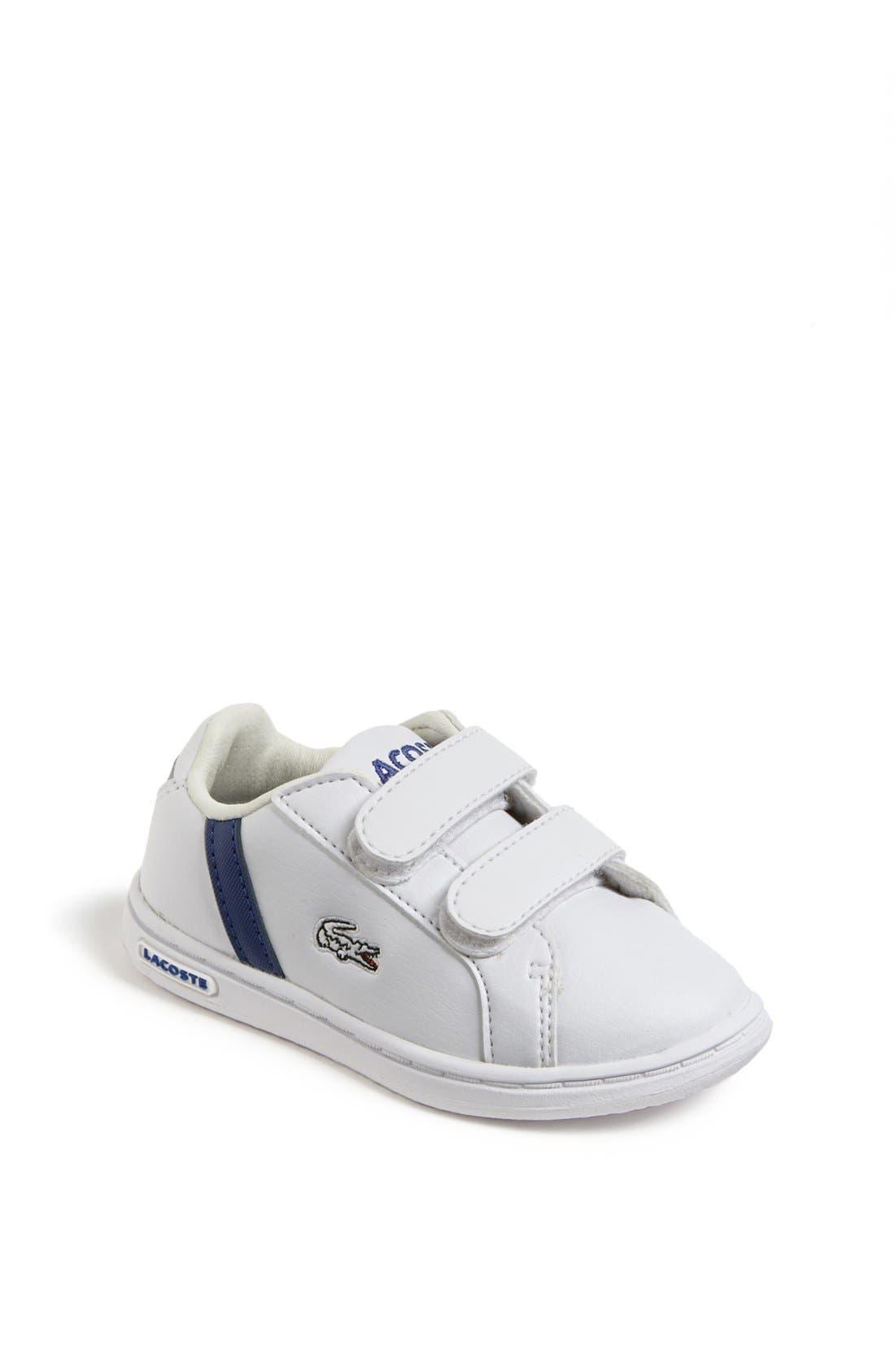 Alternate Image 1 Selected - Lacoste 'Renard' Sneaker (Baby, Walker & Toddler)