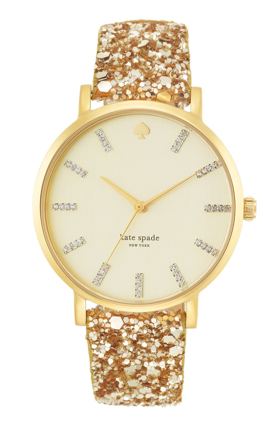 Alternate Image 1 Selected - kate spade new york 'metro grand' boxed watch set