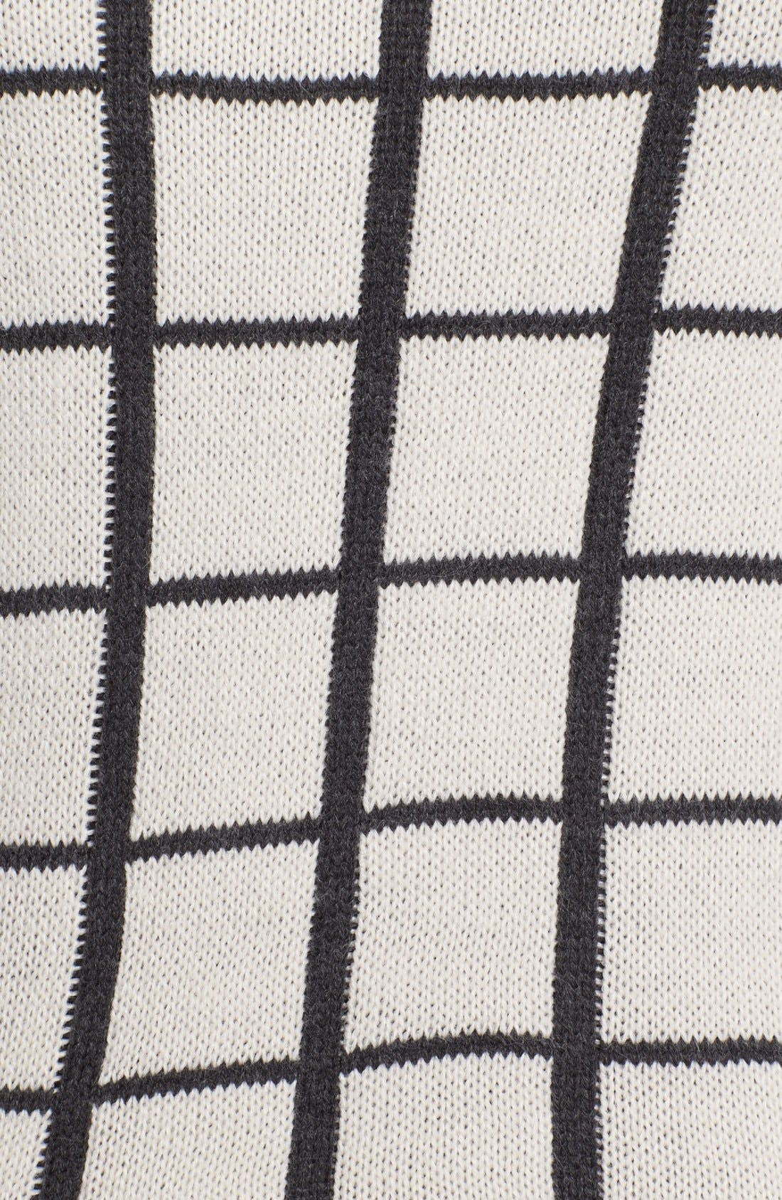 Alternate Image 5  - Olive & Oak Grid Pattern Sweater