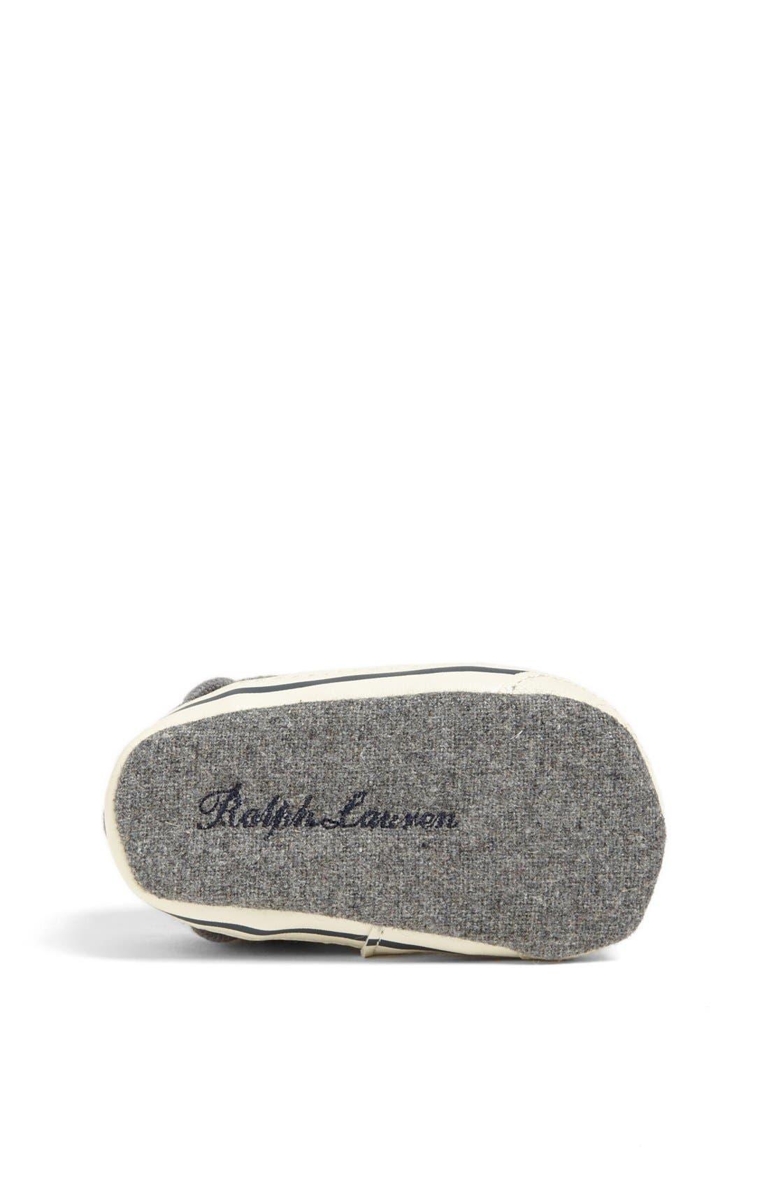 Alternate Image 4  - Ralph Lauren Crib Shoe (Baby)