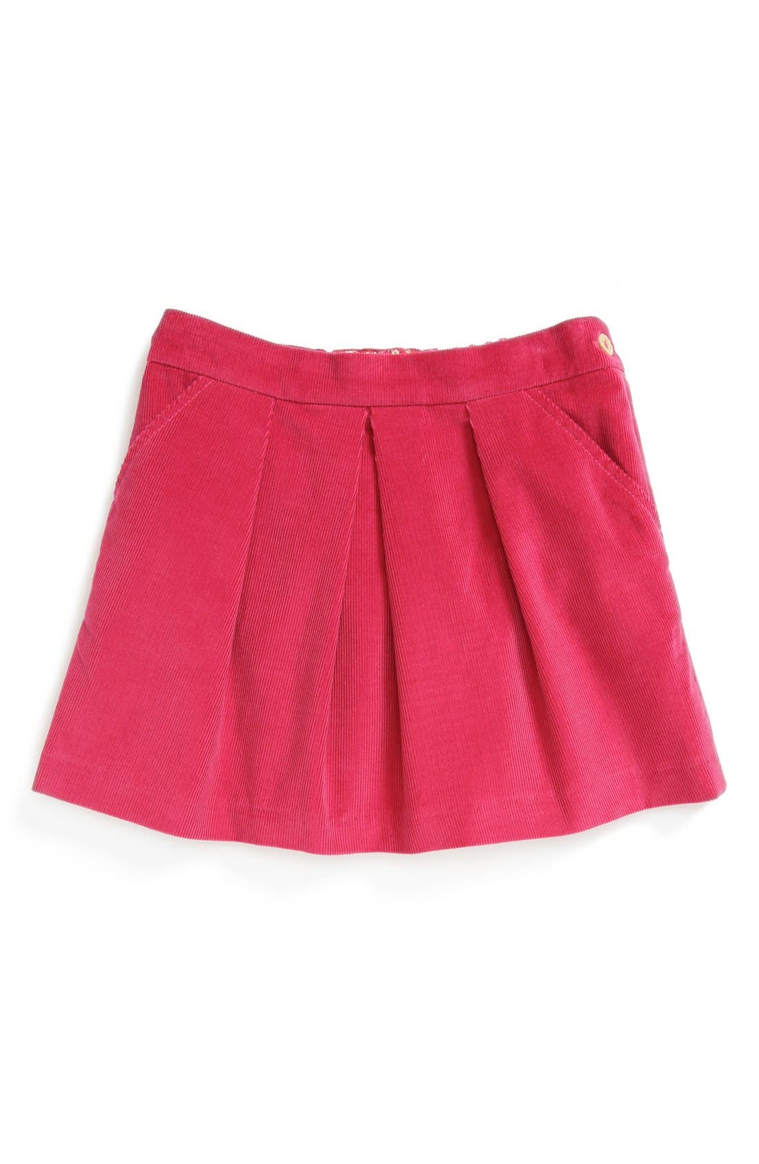 Alternate Image 1 Selected - Oscar de la Renta Corduroy Miniskirt (Little Girls & Big Girls)