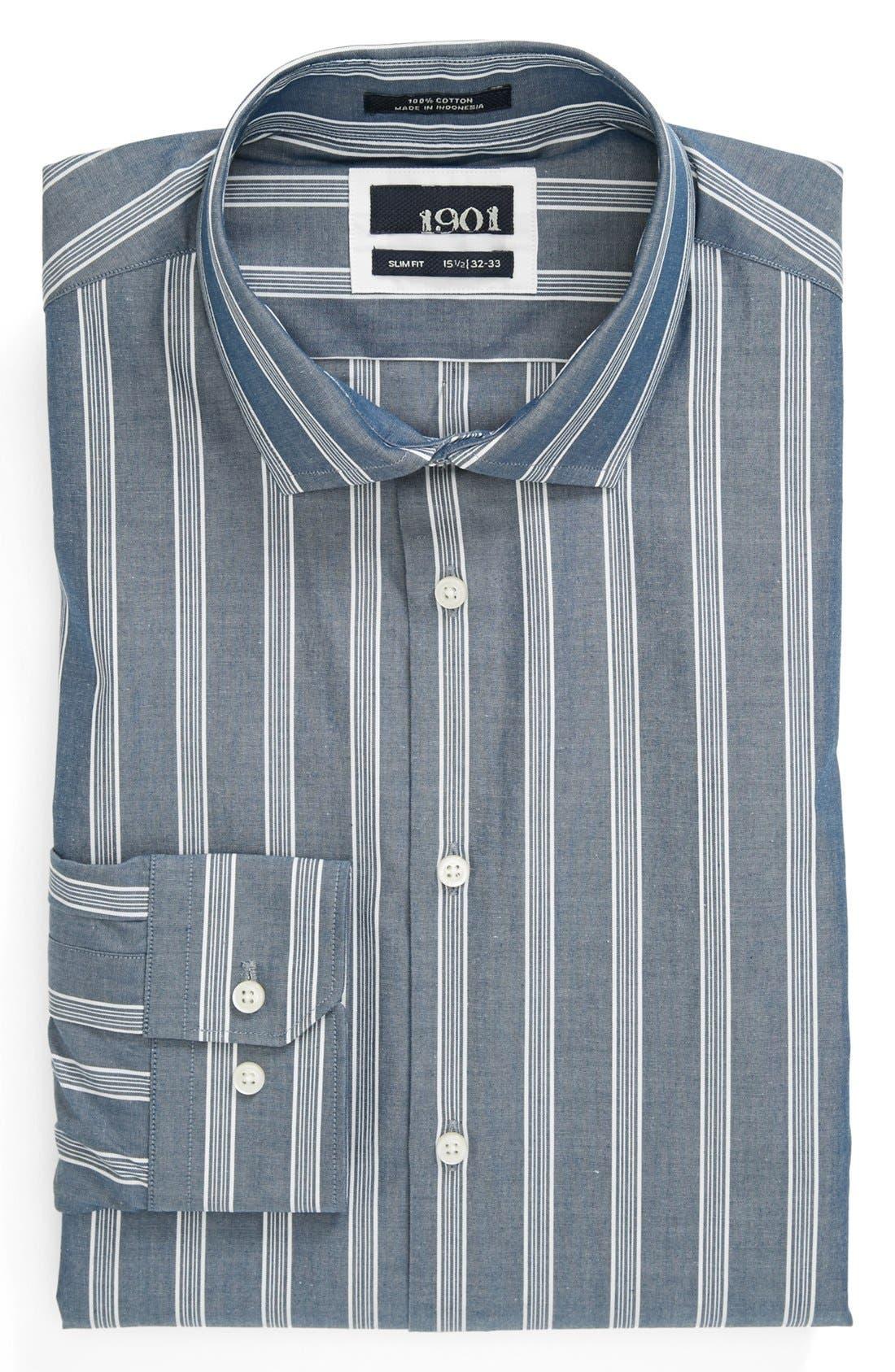 Main Image - 1901 Slim Fit Dress Shirt