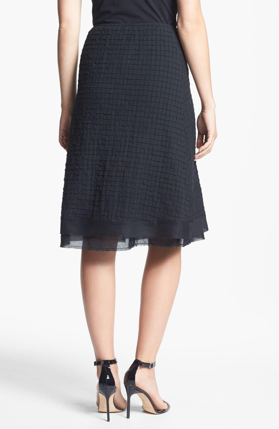 Alternate Image 2  - Eileen Fisher A-Line Skirt (Regular & Petite)