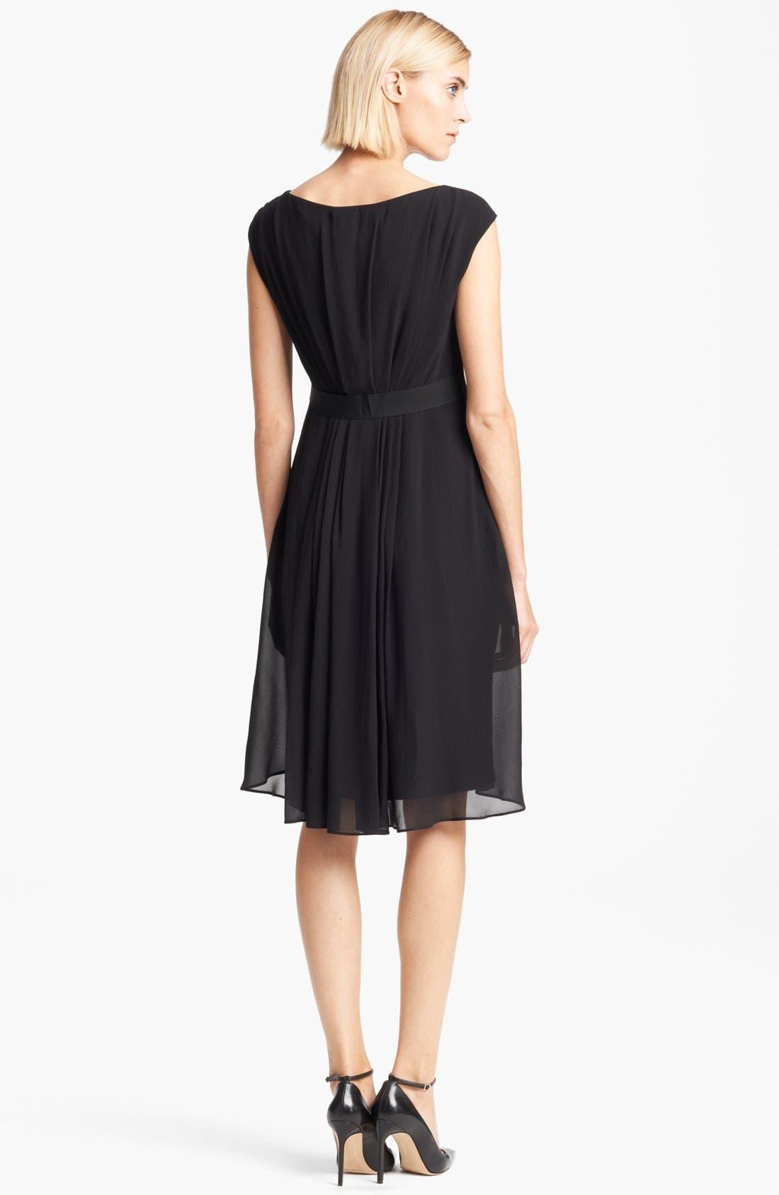 Alternate Image 2  - Max Mara 'Cordoba' Chiffon Dress
