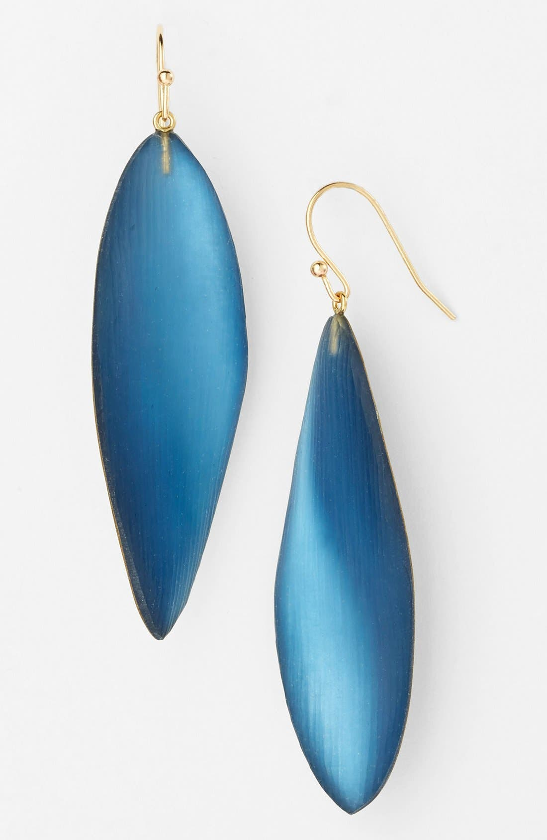 Alternate Image 1 Selected - Alexis Bittar 'Lucite®' Long Leaf Statement Earrings