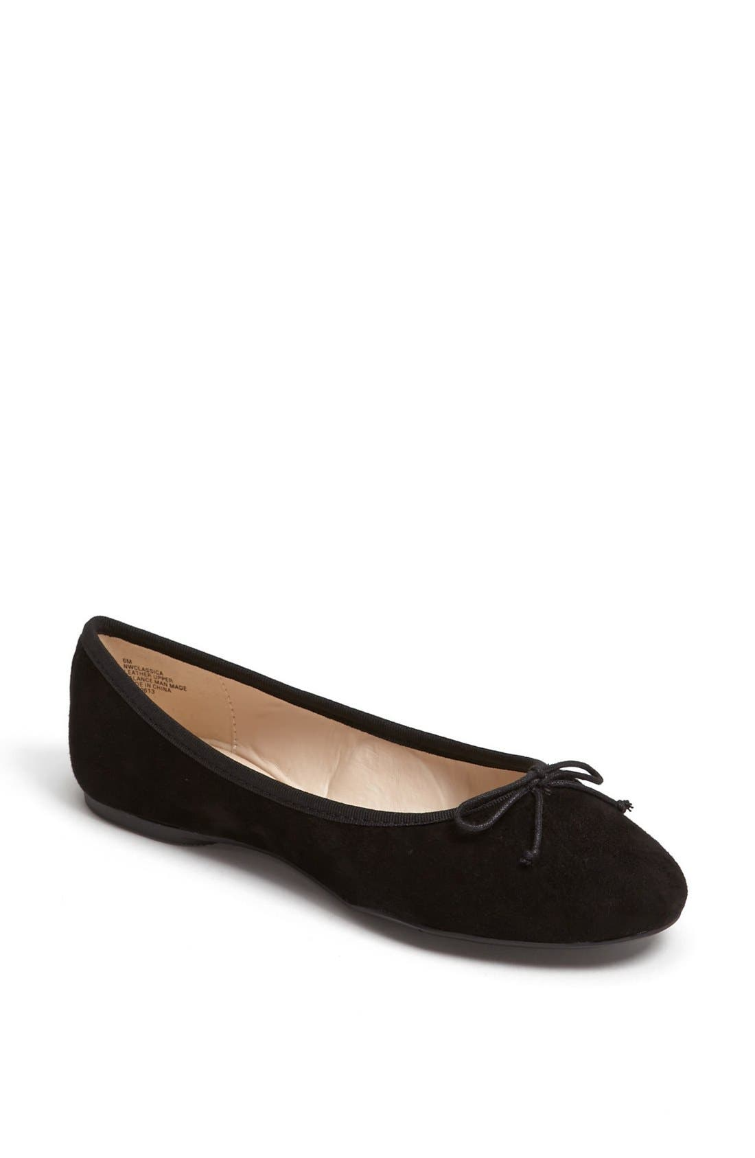Alternate Image 1 Selected - Nine West 'Classica' Ballet Flat (Online Only)