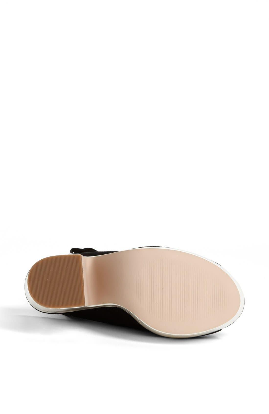 Alternate Image 4  - Topshop 'Star' Ankle Strap Platform Sandal
