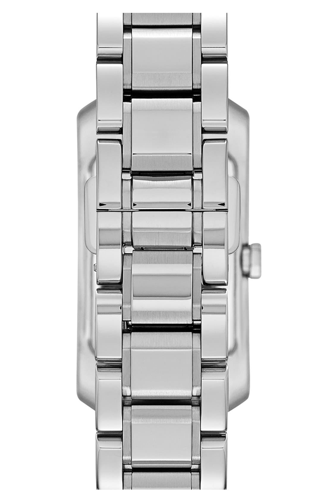 Alternate Image 2  - Burberry Rectangular Bracelet Watch, 20mm x 26mm