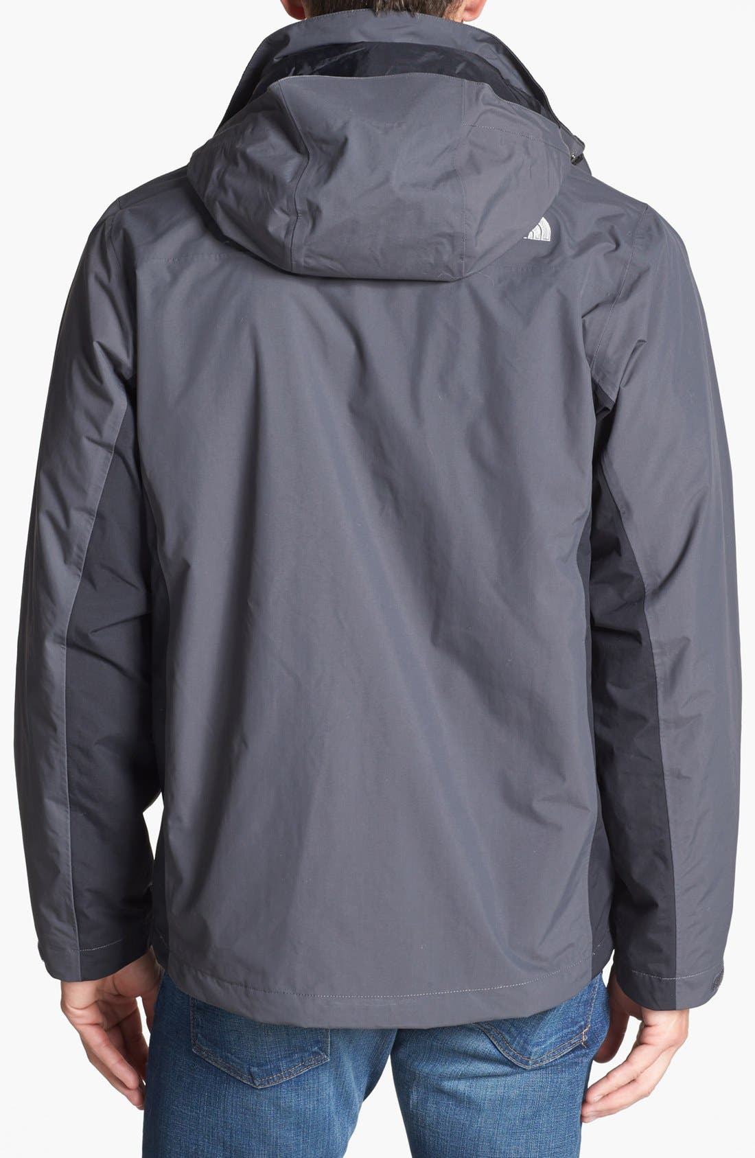 Alternate Image 2  - The North Face 'Tiberius TriClimate®' Hooded Waterproof Jacket
