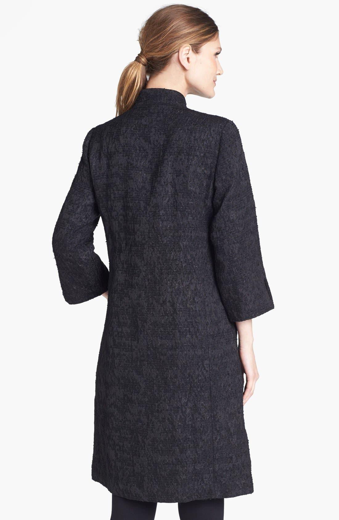 Alternate Image 2  - Eileen Fisher Threaded Satin Jacquard Jacket