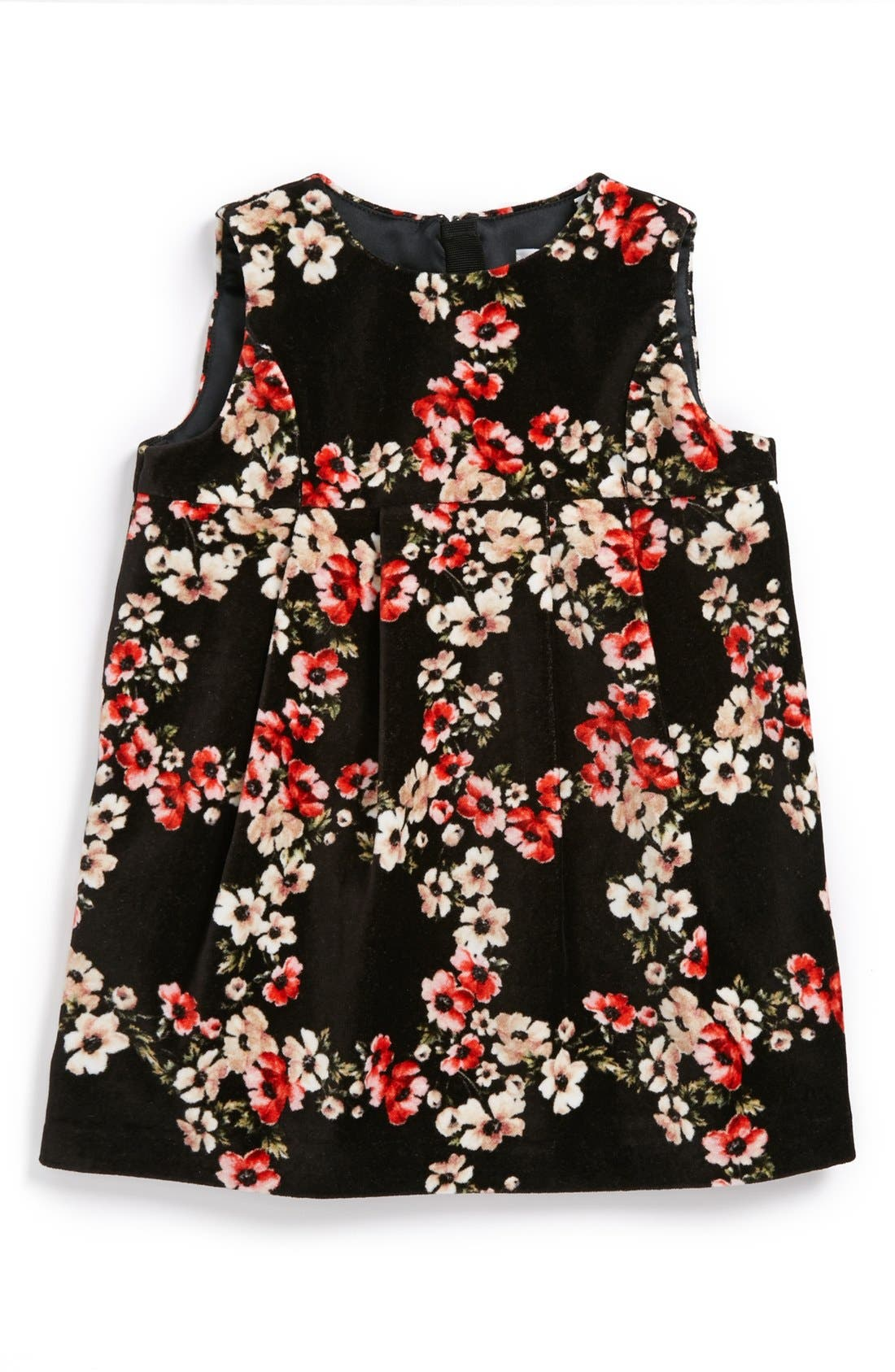 Main Image - Dolce&Gabbana Sleeveless Floral Dress (Baby Girls)