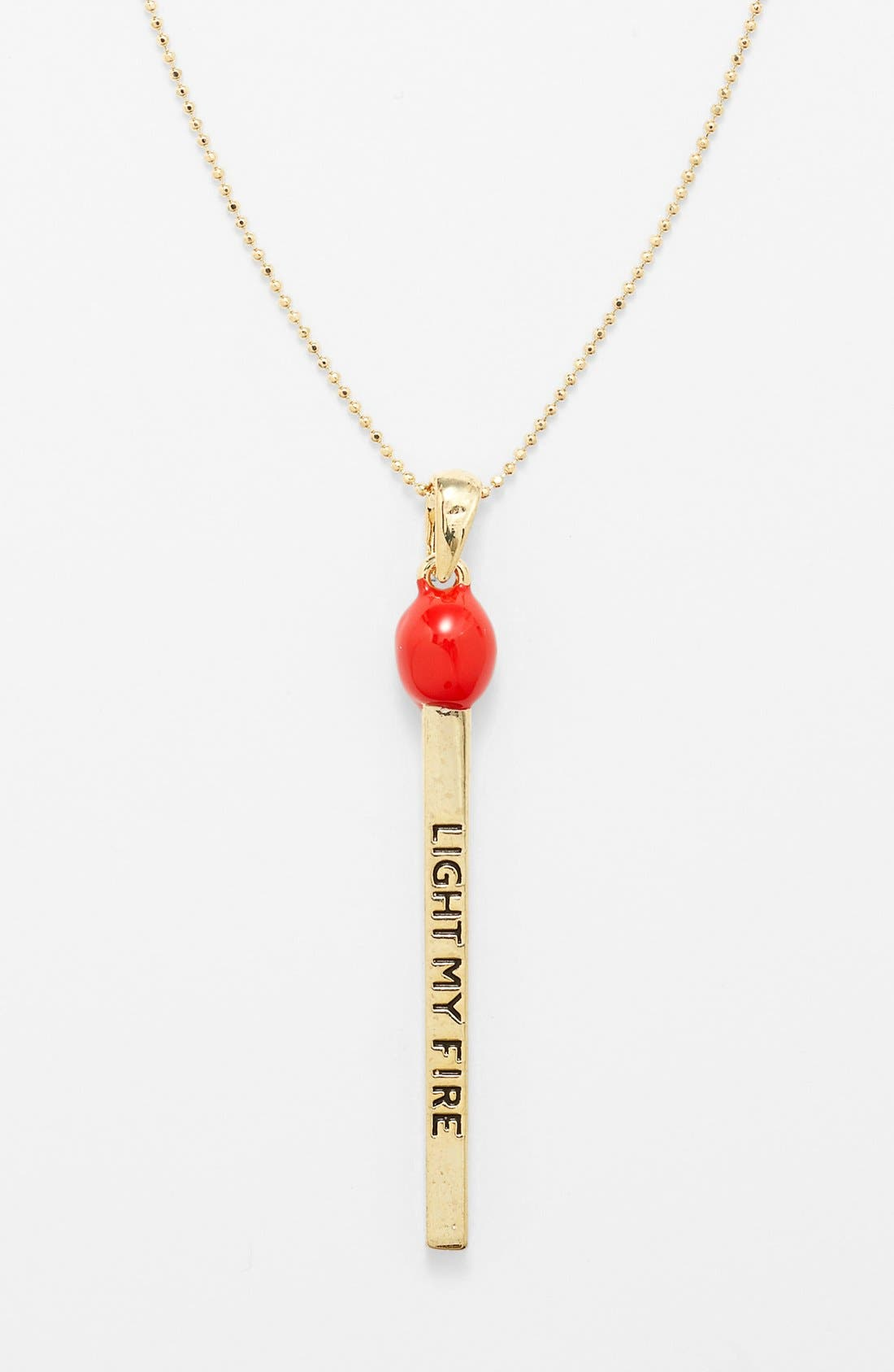 Alternate Image 2  - Cara Couture 'Light My Fire' Necklace