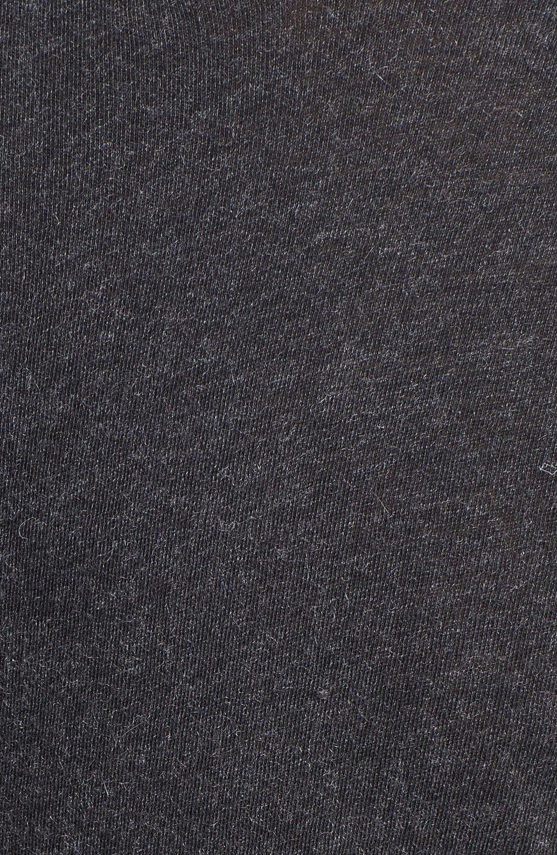 Alternate Image 4  - Enza Costa Cotton & Cashmere Jersey Sweater
