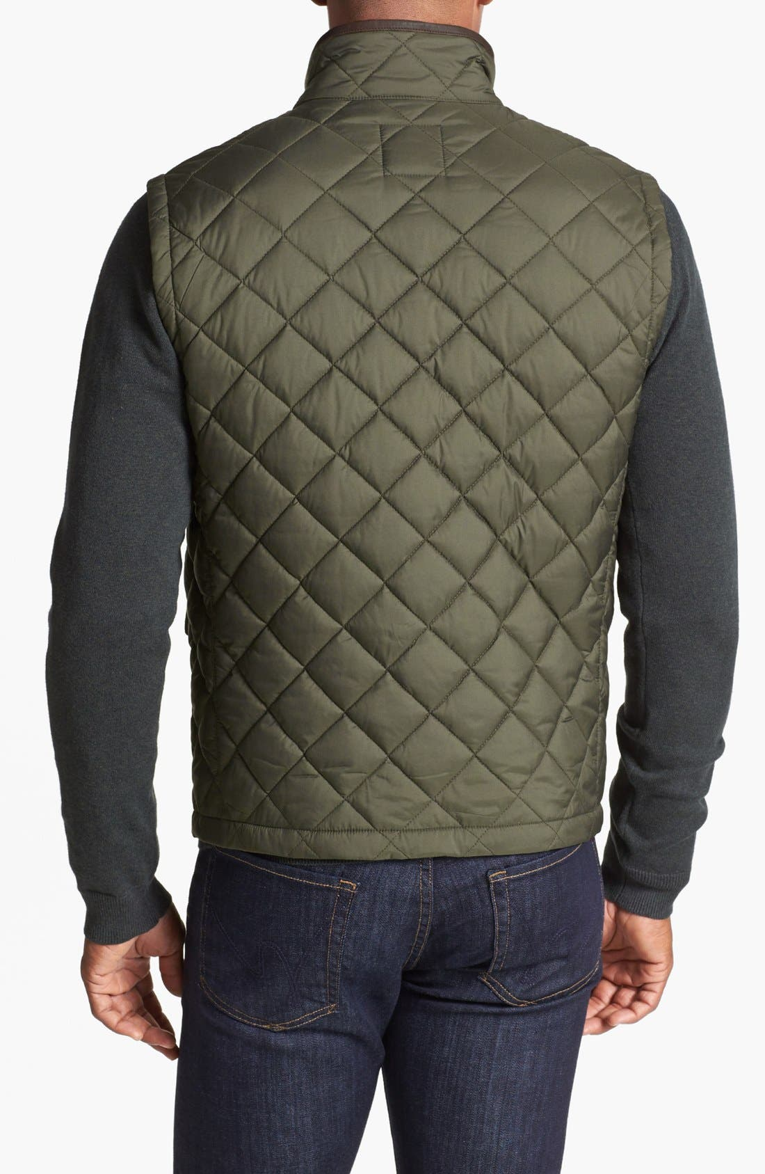 Alternate Image 2  - Brooks Brothers Quilted City Vest
