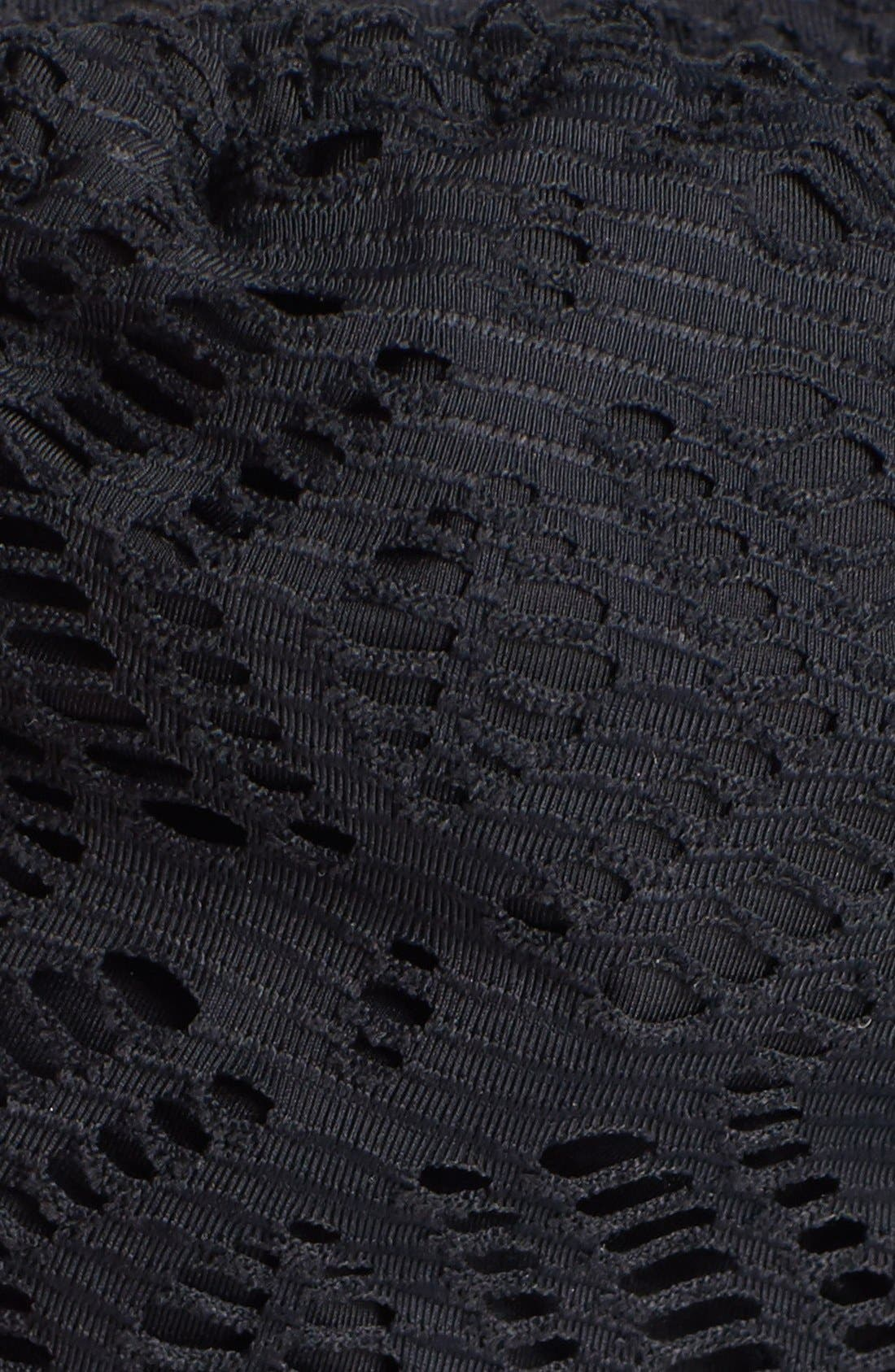 Alternate Image 5  - Becca Crochet Triangle Bikini Top