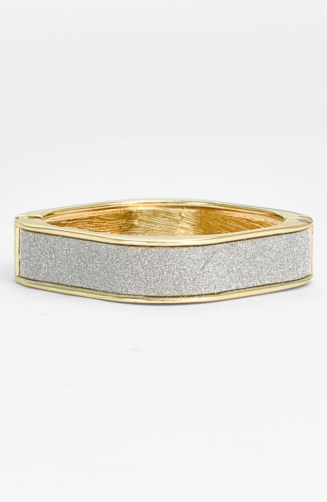 Alternate Image 1 Selected - Guinevere Square Hinged Bangle