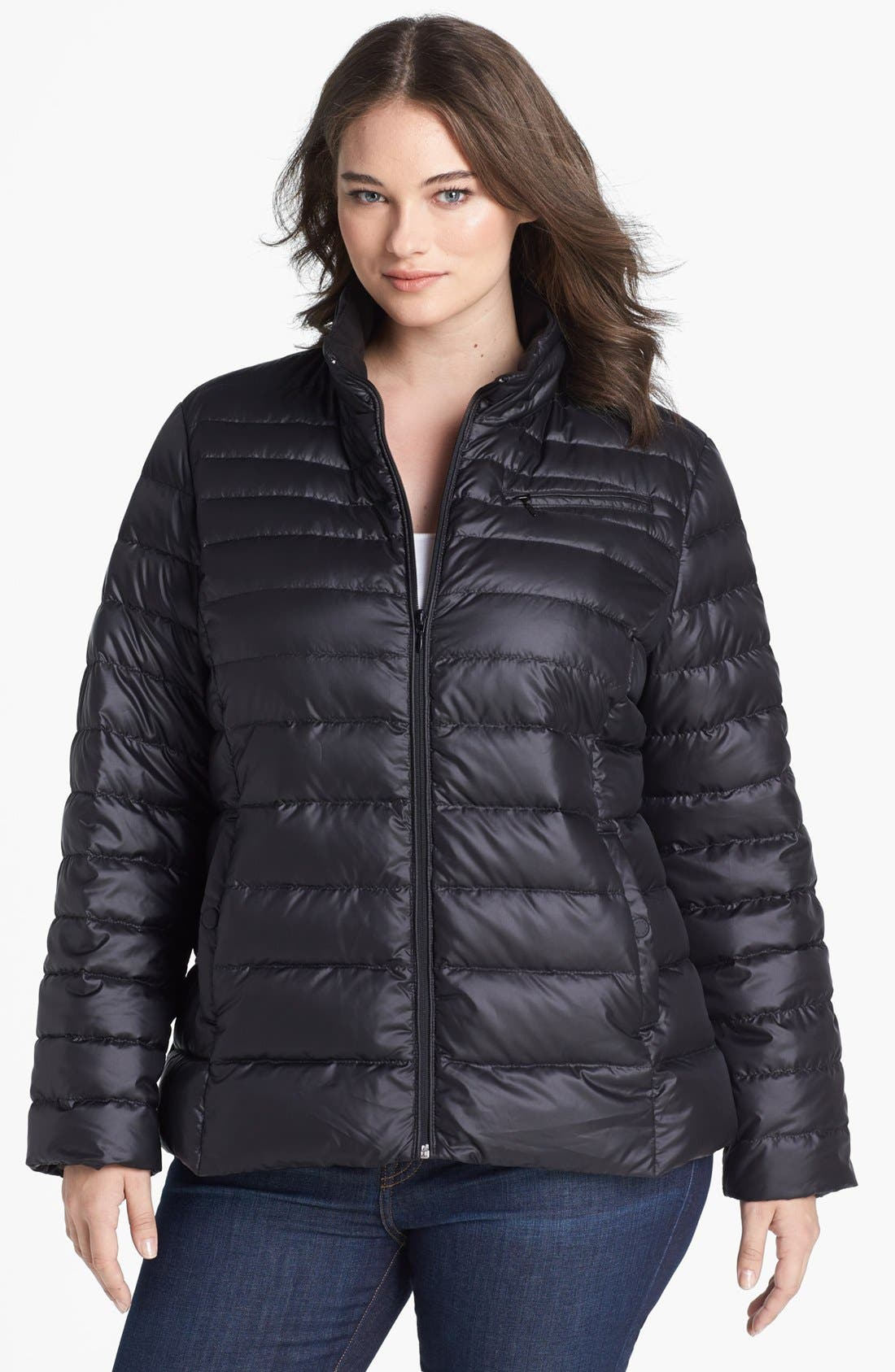 Alternate Image 1 Selected - Marc New York by Andrew Marc 'Essex' Lightweight Down Jacket (Plus Size)