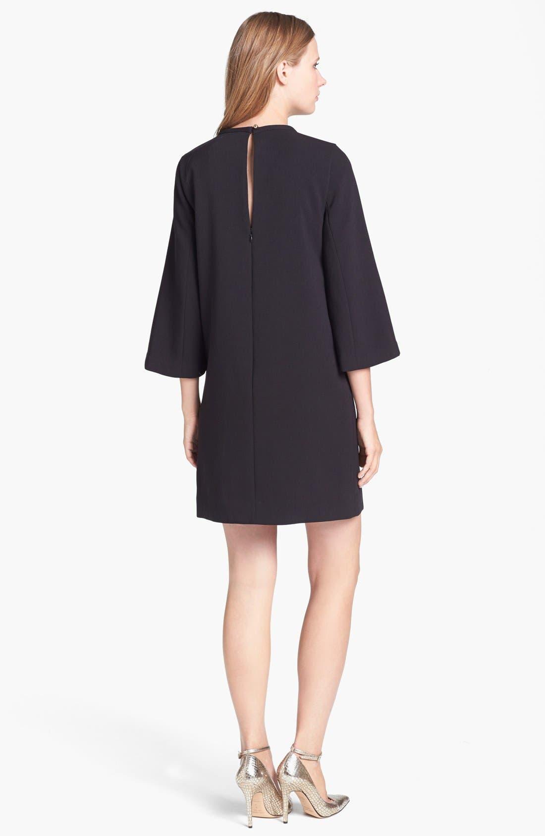 Alternate Image 2  - kate spade new york 'lucy' embellished stretch shift dress