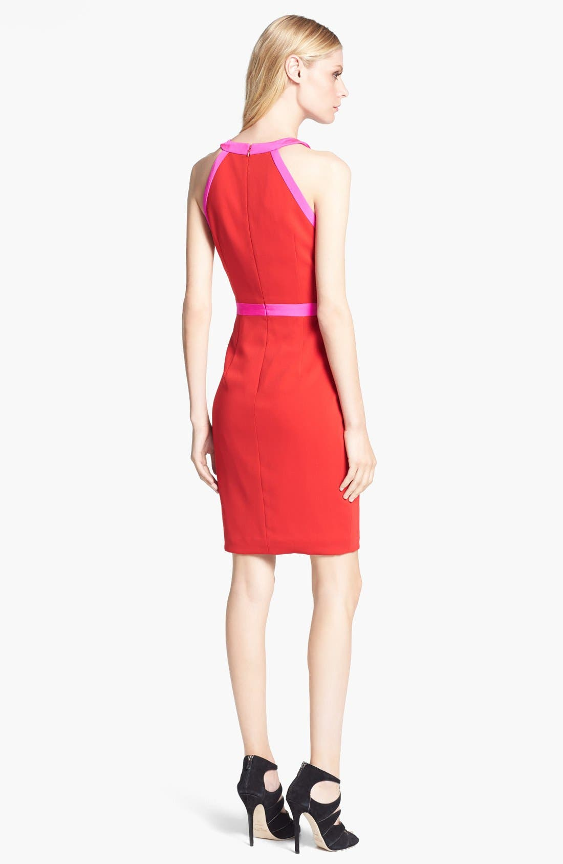 Alternate Image 2  - Jay Godfrey 'Woodward' Contrast Trim Sheath Dress