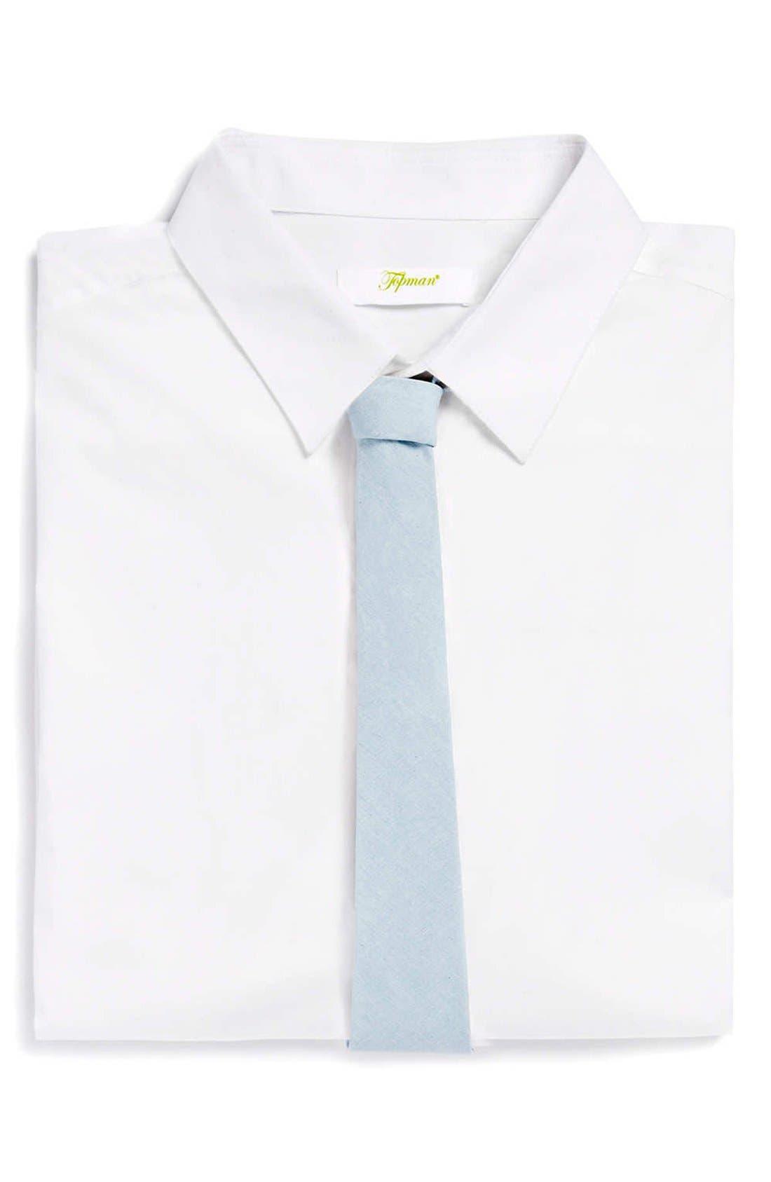 Alternate Image 1 Selected - Topman Woven Tie