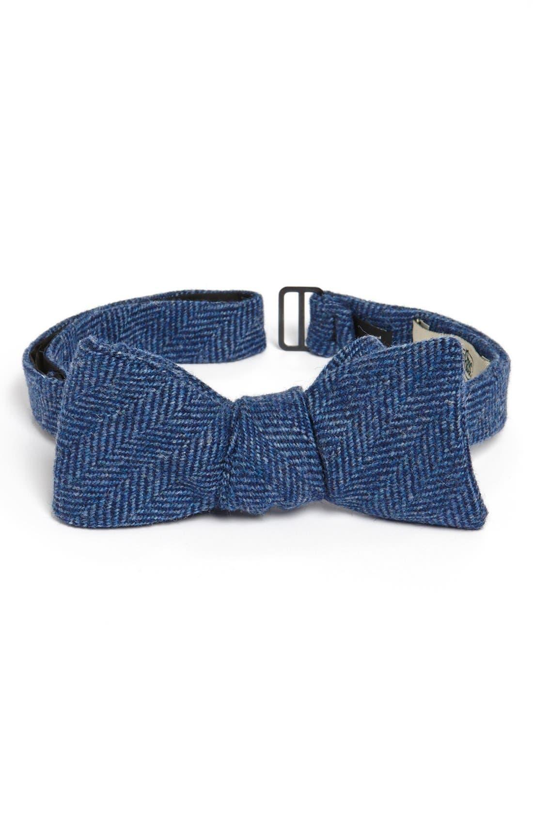 Main Image - Gitman Merino Wool Bow Tie
