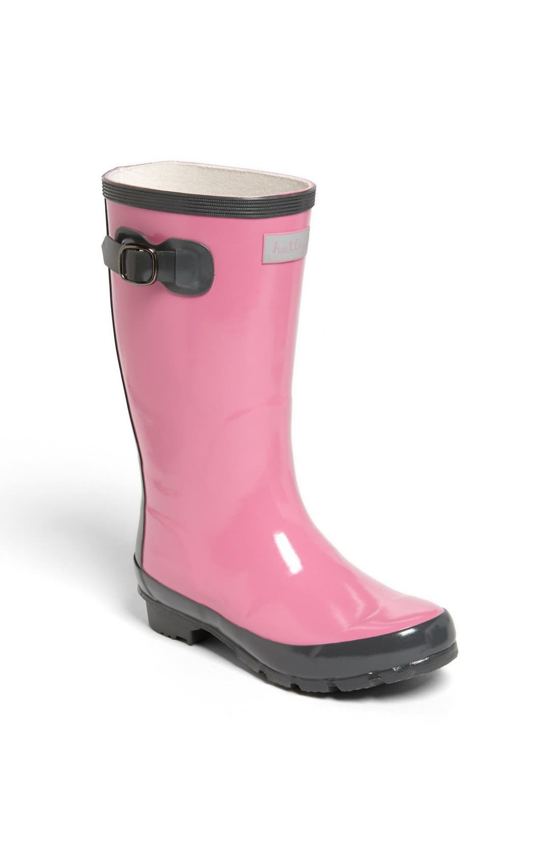 Alternate Image 1 Selected - Hatley 'Orchid Lily' Rain Boot (Toddler & Little Kid)
