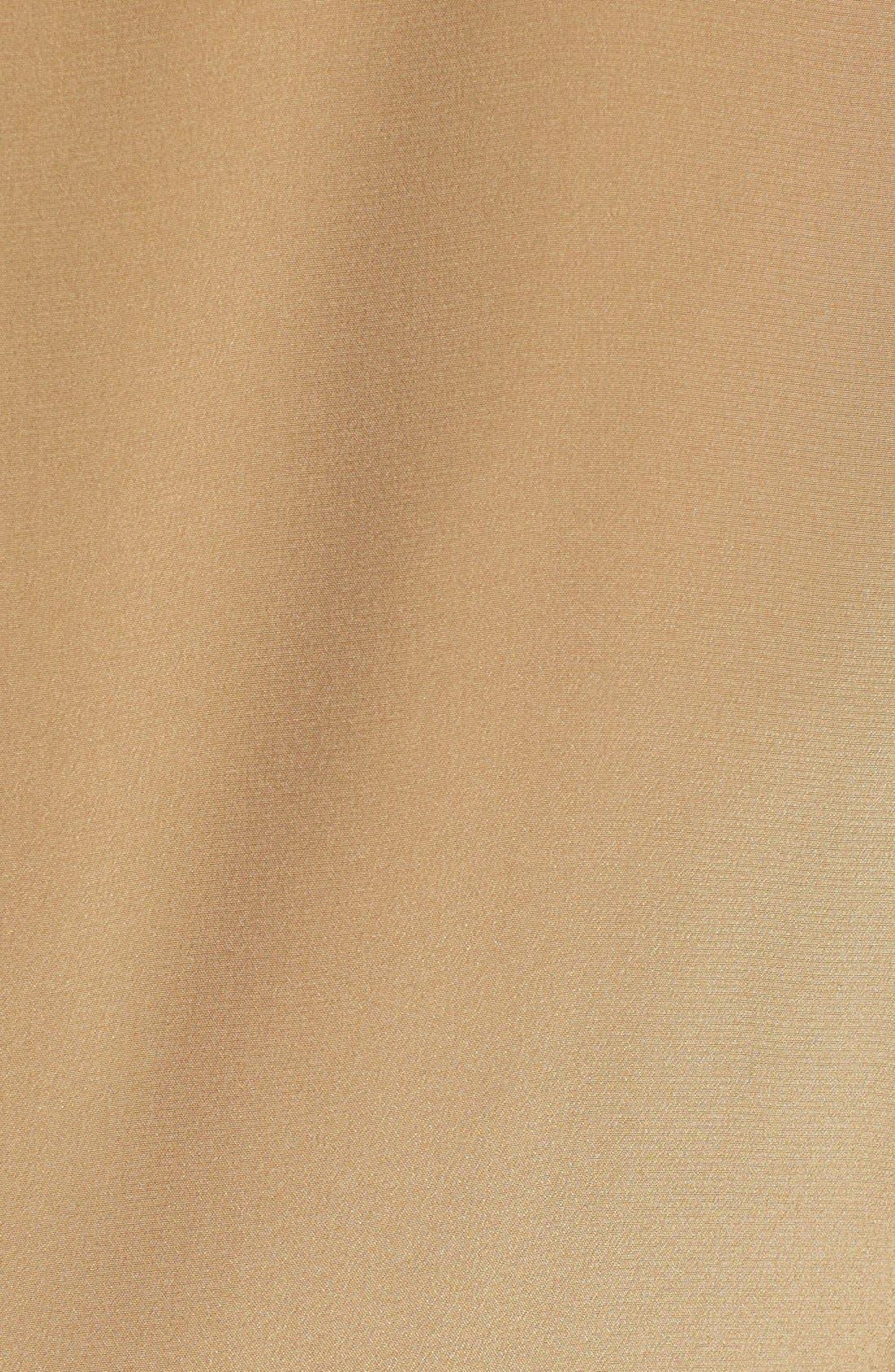 Alternate Image 4  - Santorelli Tie Neck Silk Shell