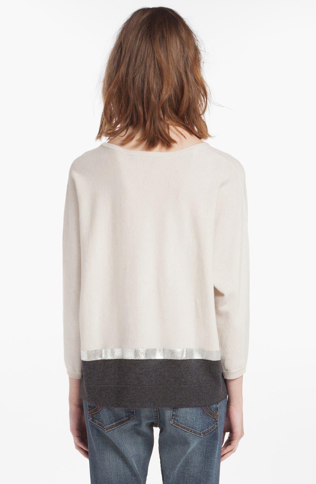Alternate Image 2  - maje 'Dolsen' Wool Blend Sweater