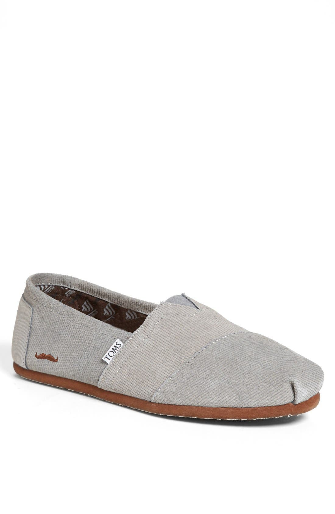 Alternate Image 1 Selected - TOMS 'Movember Classic' Slip-On (Men) (Limited Edition - Movember)