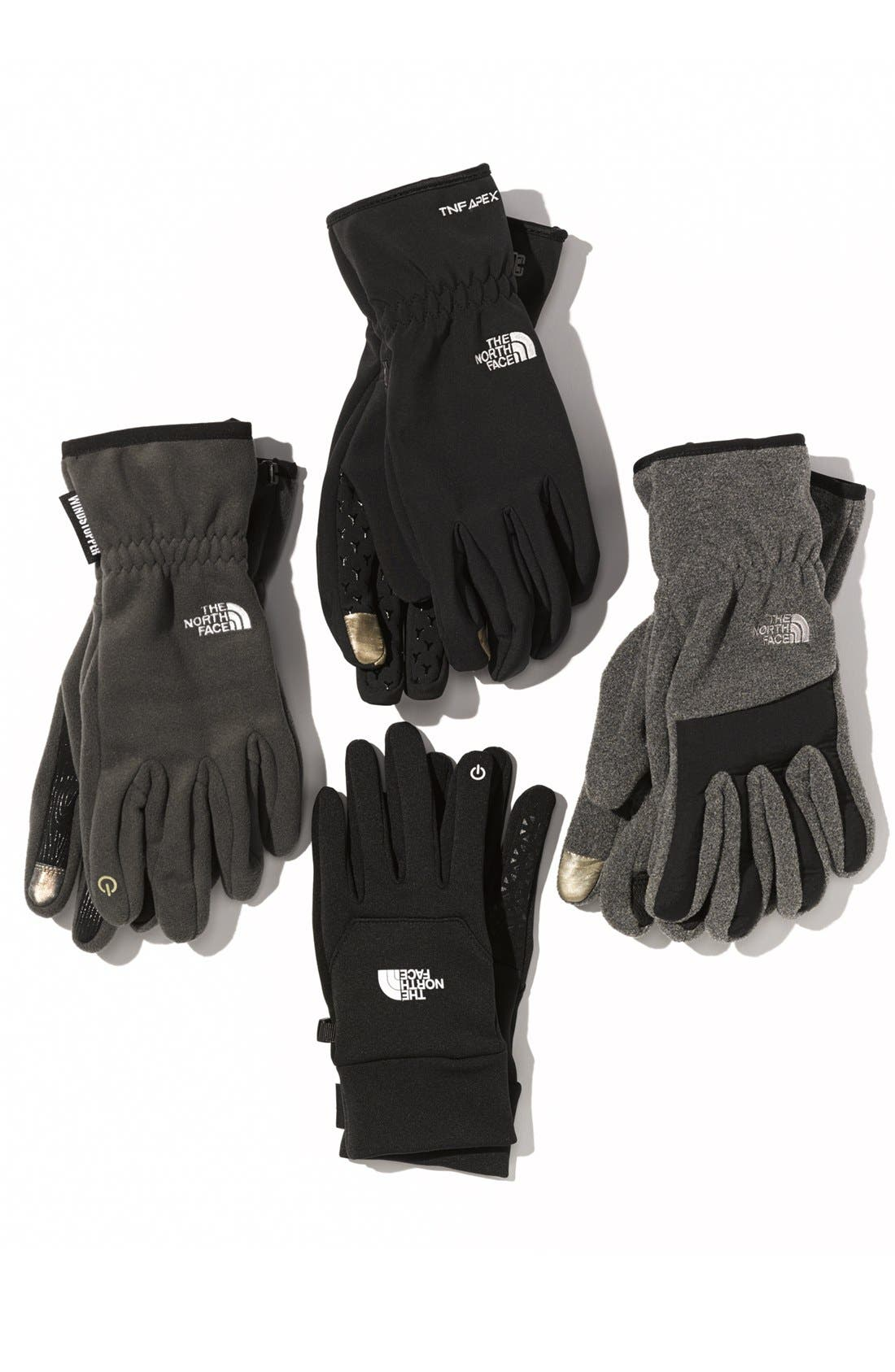 Alternate Image 2  - The North Face 'E-Tip Windstopper™' Gloves (Men)