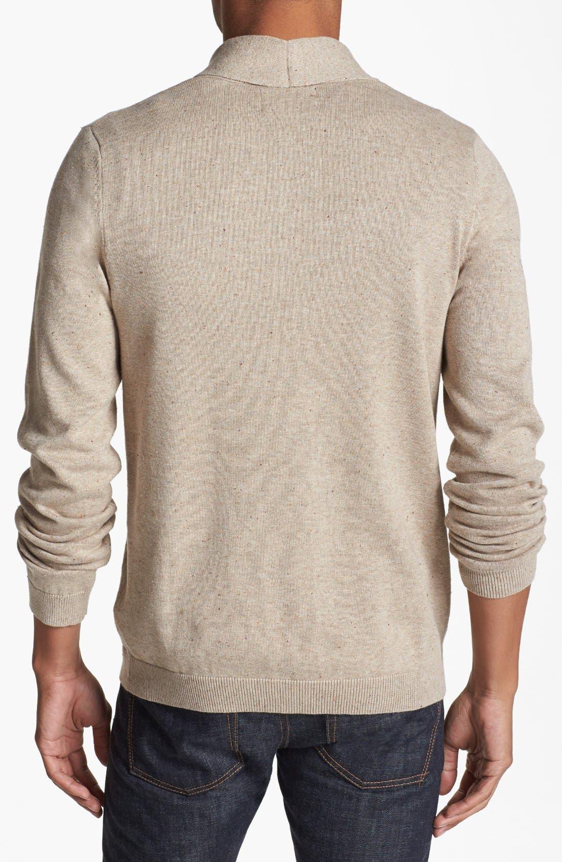 Alternate Image 2  - Topman Shawl Sweater