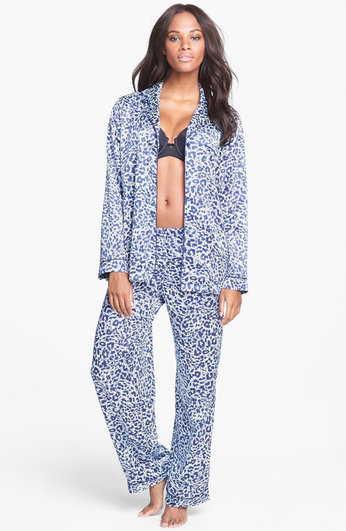 Main Image - Nordstrom Satin Pajamas