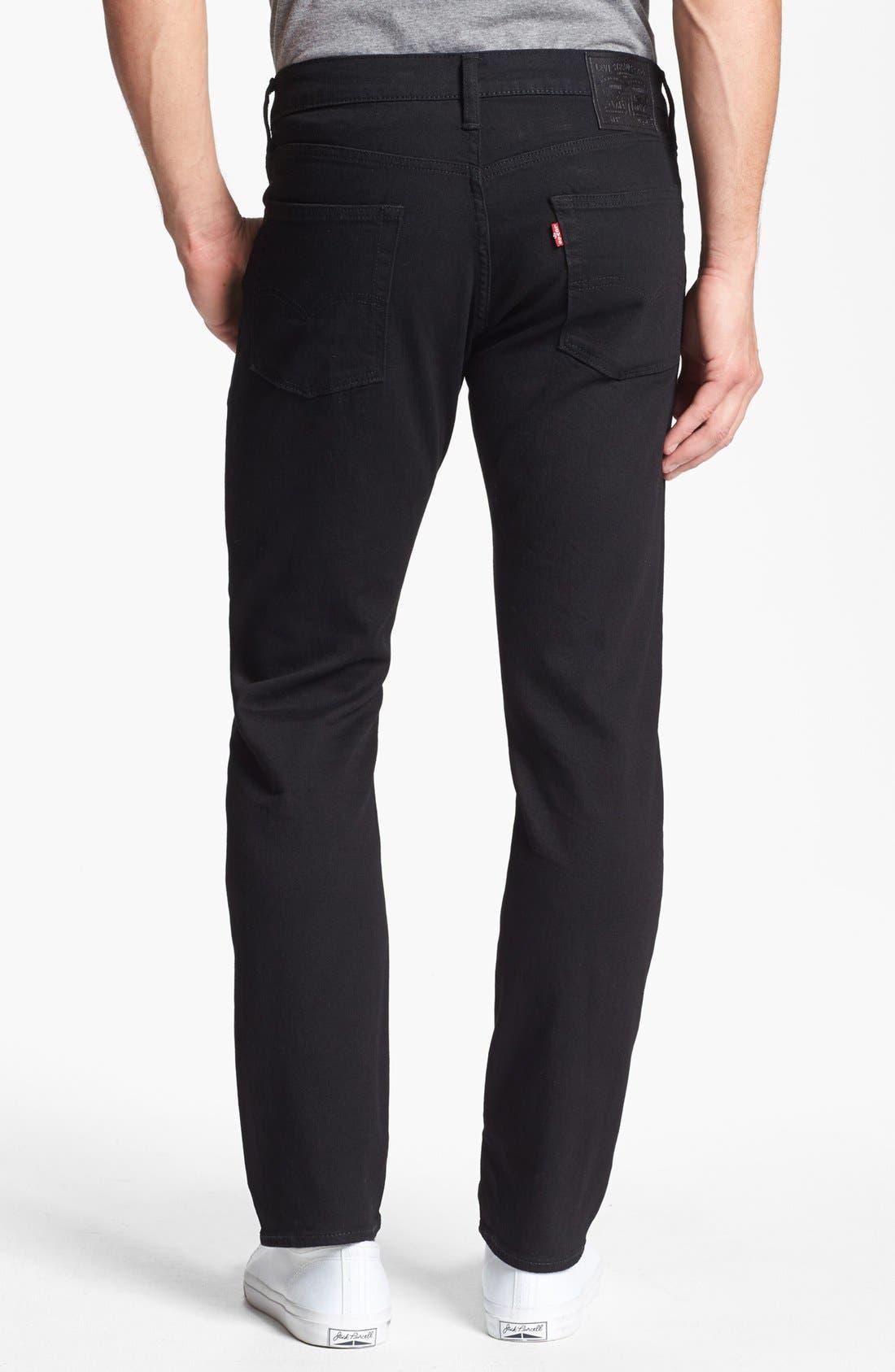 Alternate Image 2  - Levi's® 513™ Slim Straight Leg Jeans (Nightshine)