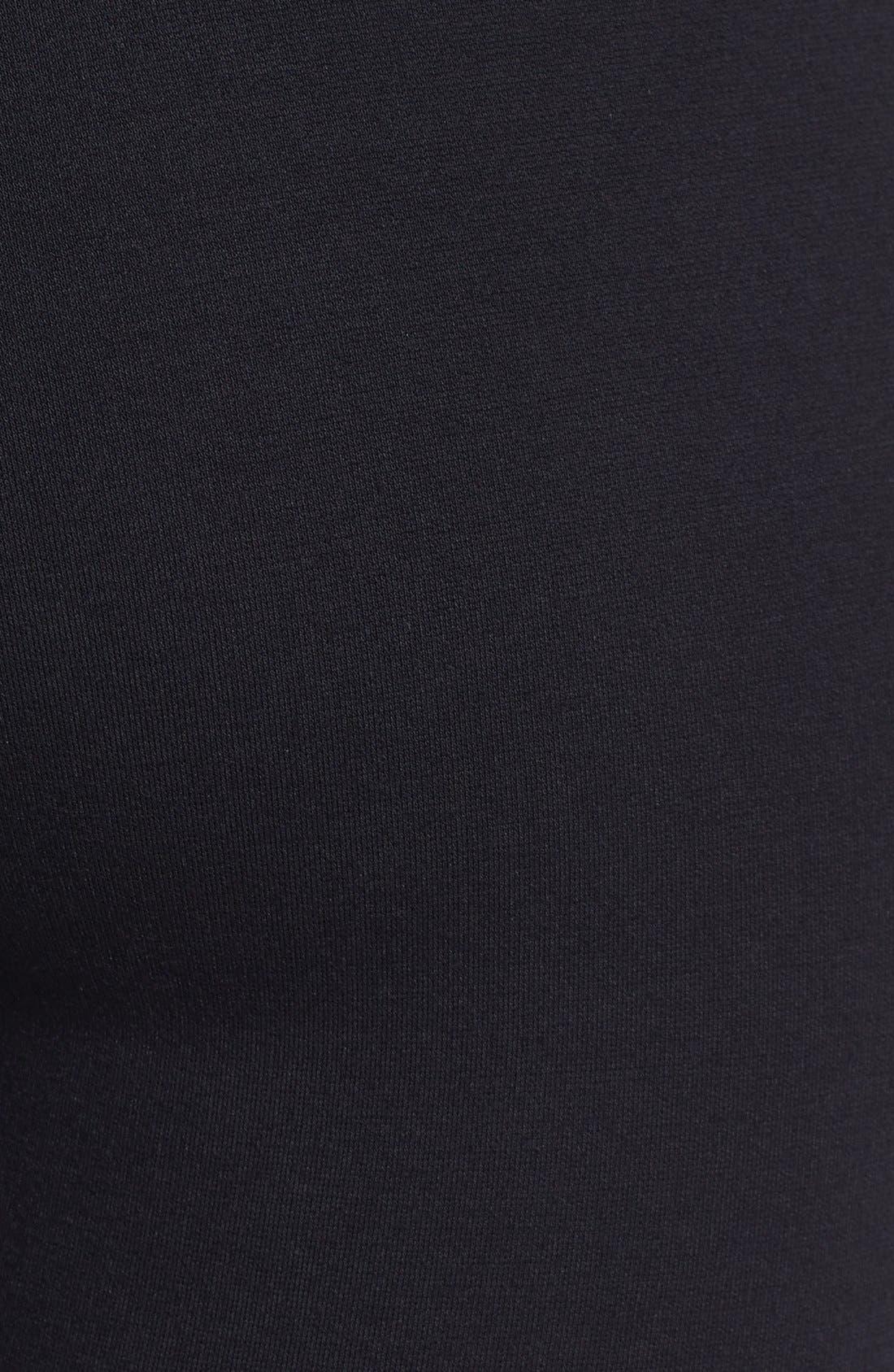 Alternate Image 3  - Ella Moss 'Sandra' Faux Leather Trim Leggings