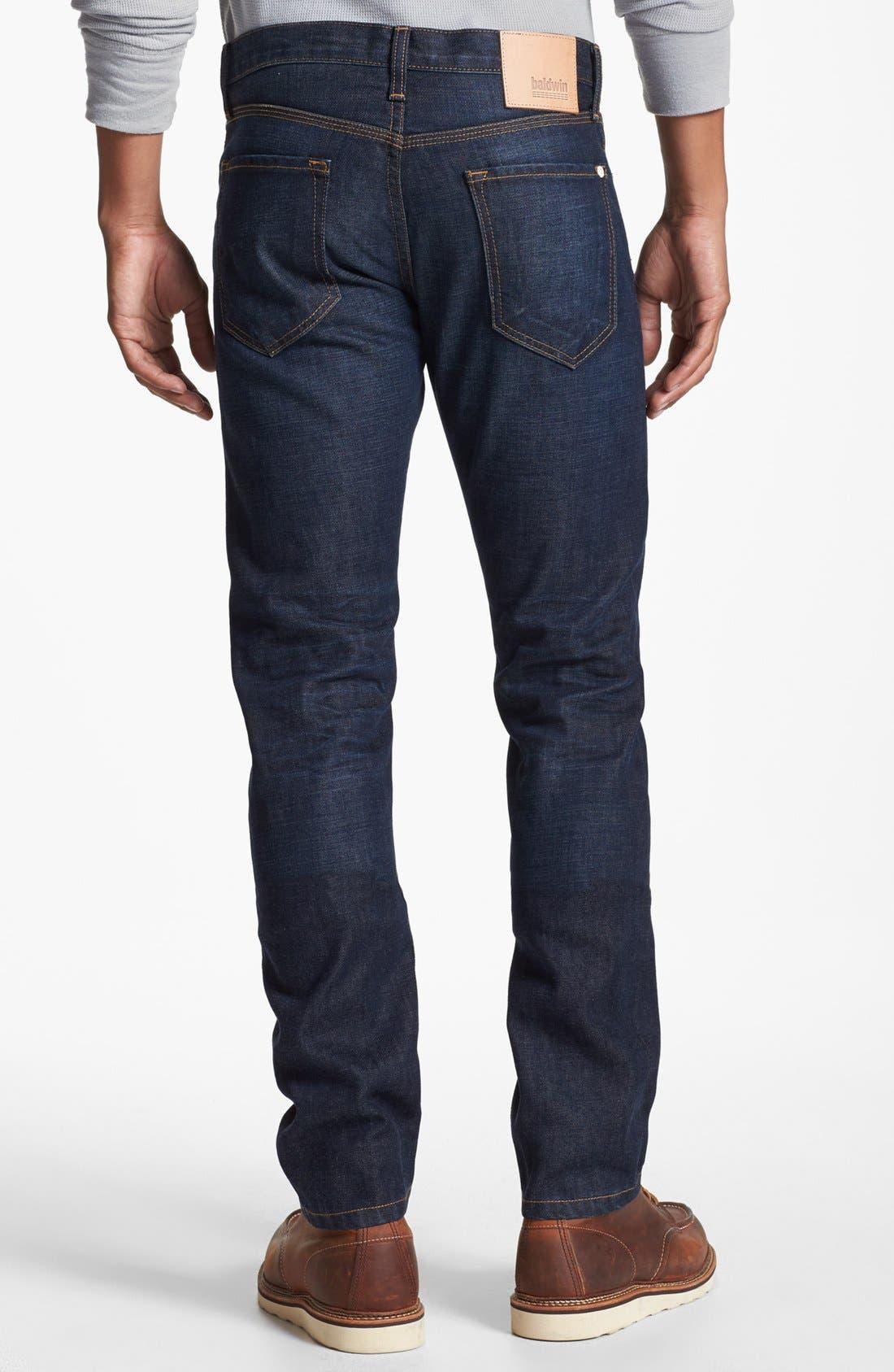 Alternate Image 1 Selected - Baldwin 'Henley' Skinny Fit Jeans (Daniel)