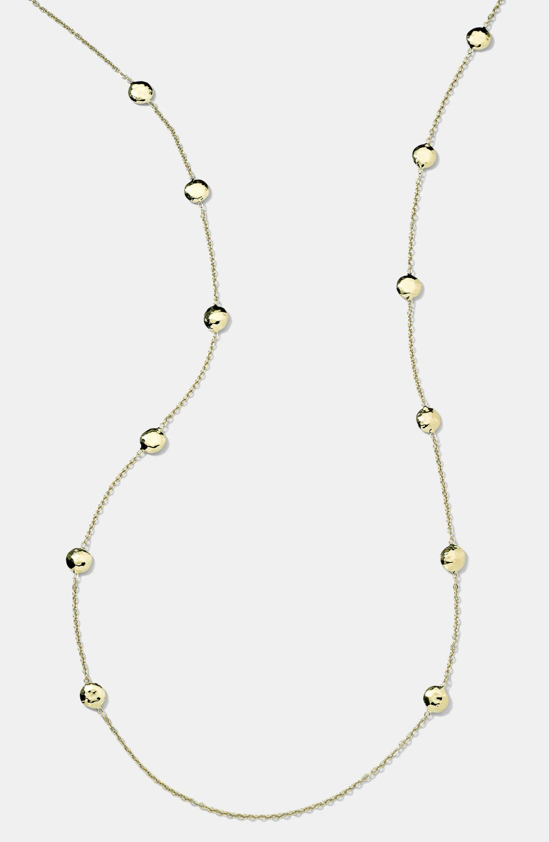 Alternate Image 1 Selected - Ippolita 'Glamazon - Pinball' 18k Gold Long Station Necklace