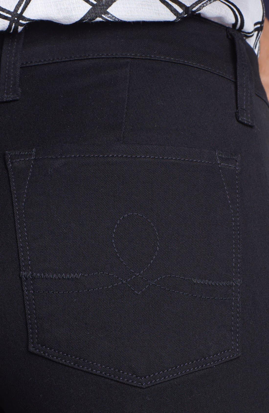 Alternate Image 3  - Lucky Brand 'Sofia' Tuxedo Detail Skinny Jeans (Jededia)