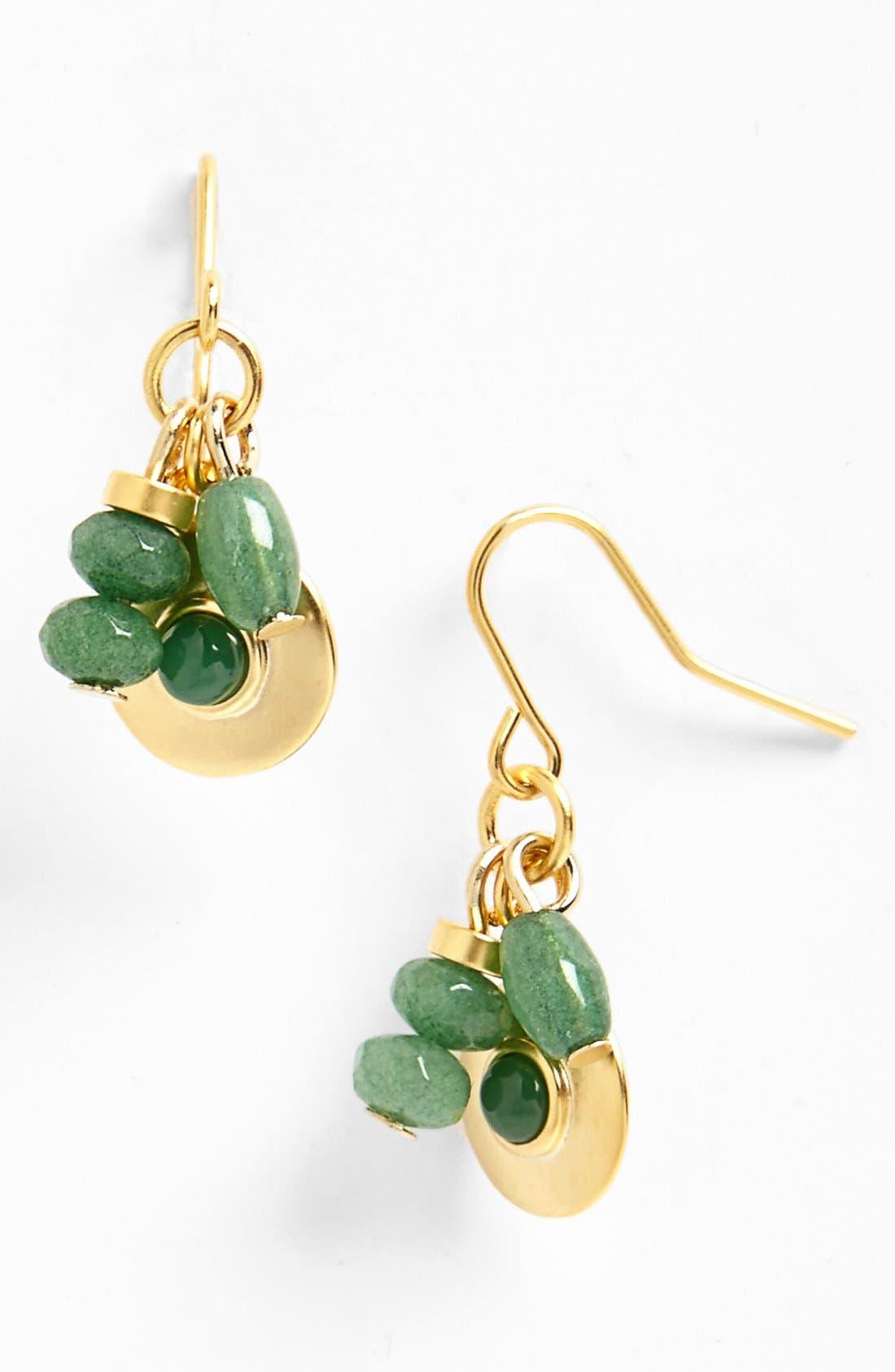 Alternate Image 1 Selected - Lauren Ralph Lauren Cluster Drop Earrings