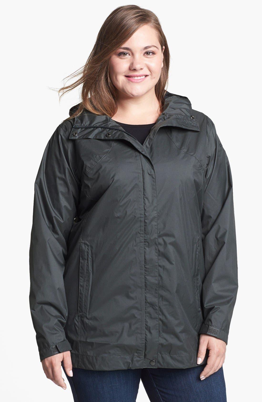 Main Image - Columbia 'Splash a Little' Rain Jacket (Plus Size)