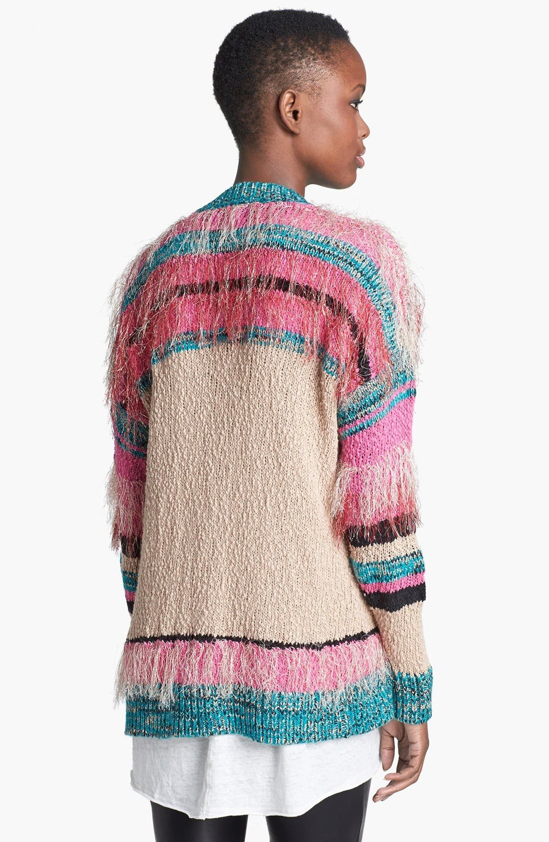 Alternate Image 2  - MINKPINK 'Gypsy Love' Textured Cardigan
