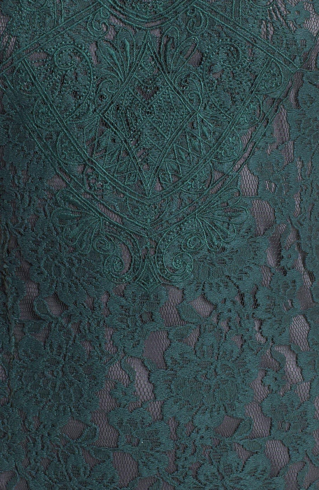 Alternate Image 3  - ASTR Mesh Inset Lace Dress
