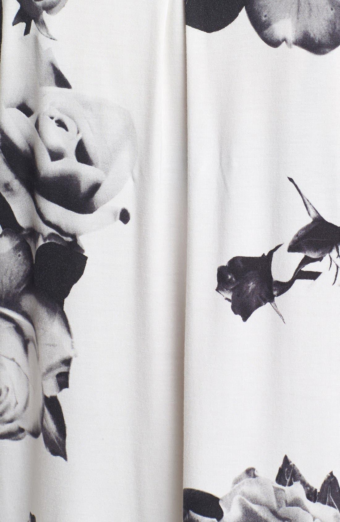 Alternate Image 3  - PJ Luxe 'Rose Noir' Pajamas