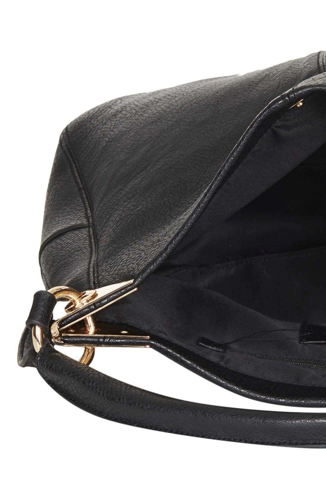 Alternate Image 3  - Topshop Hinged Hobo Bag