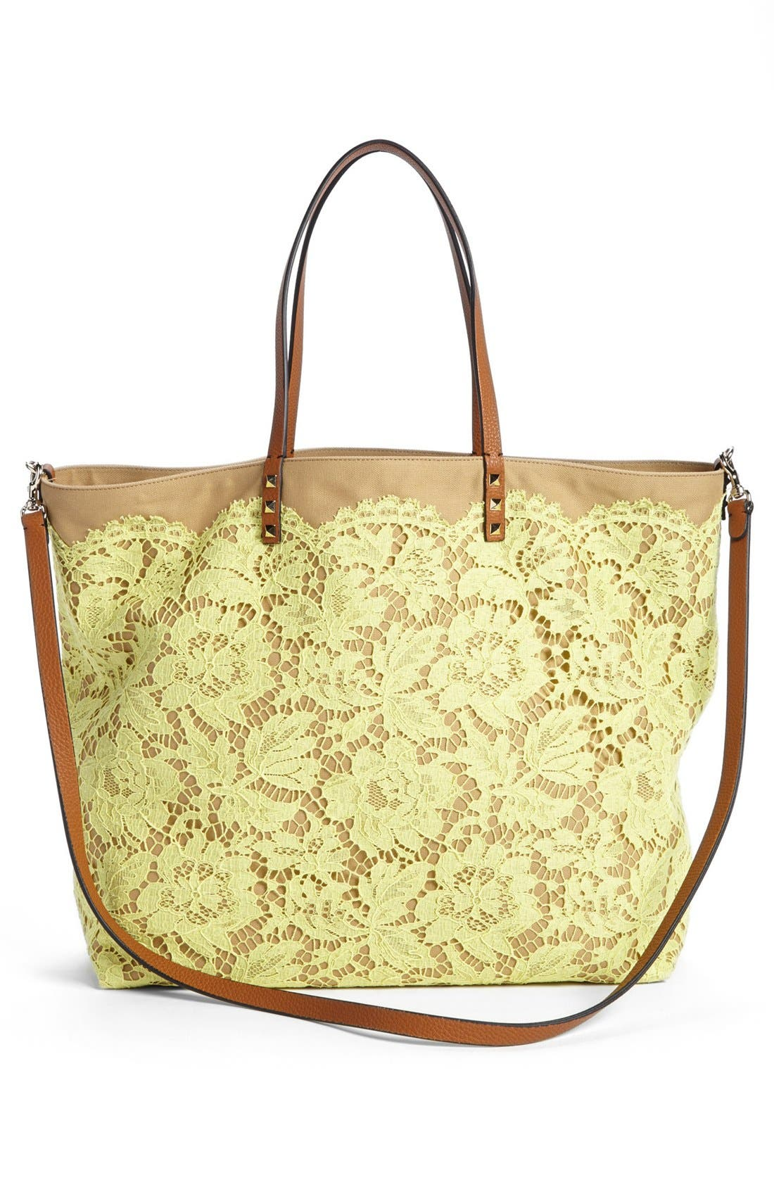 Main Image - Valentino 'Glam' Reversible Lace Tote