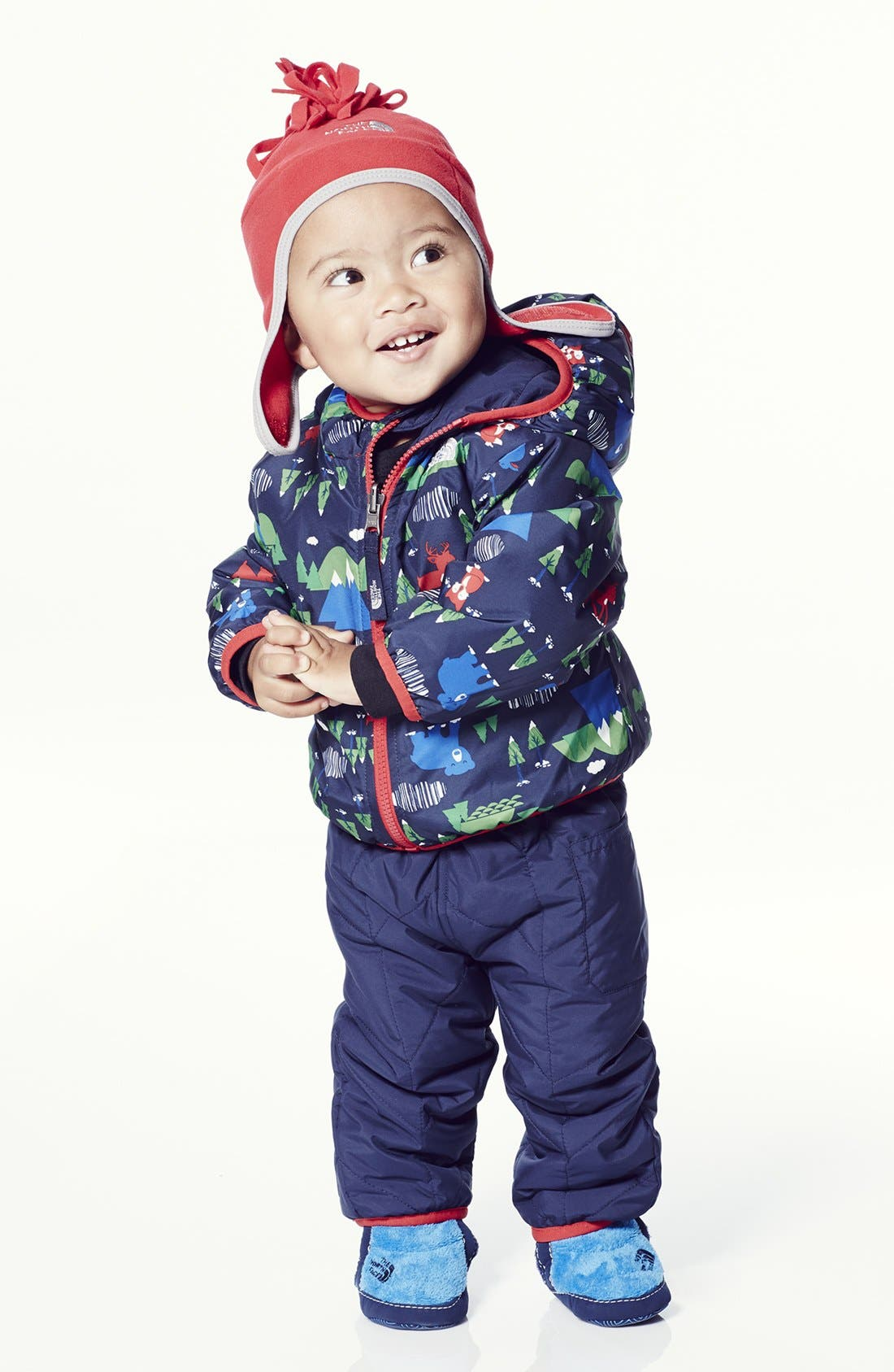 Alternate Image 3  - The North Face 'Perrito' Chevron Quilted Reversible Jacket (Baby Boys)