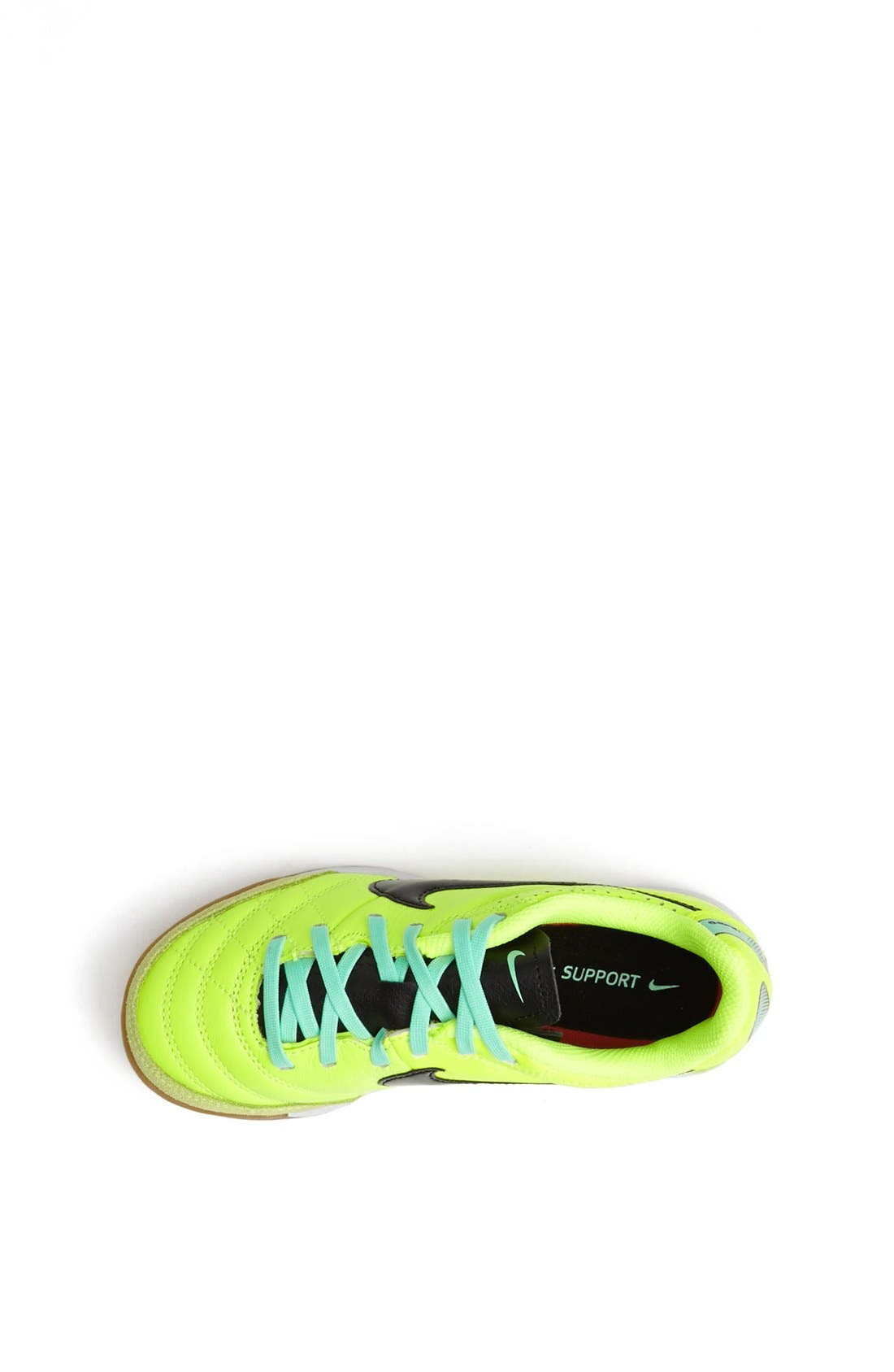 Alternate Image 3  - Nike 'Jr. Tiempo Natural IV' Soccer Shoe (Toddler, Little Kid & Big Kid)